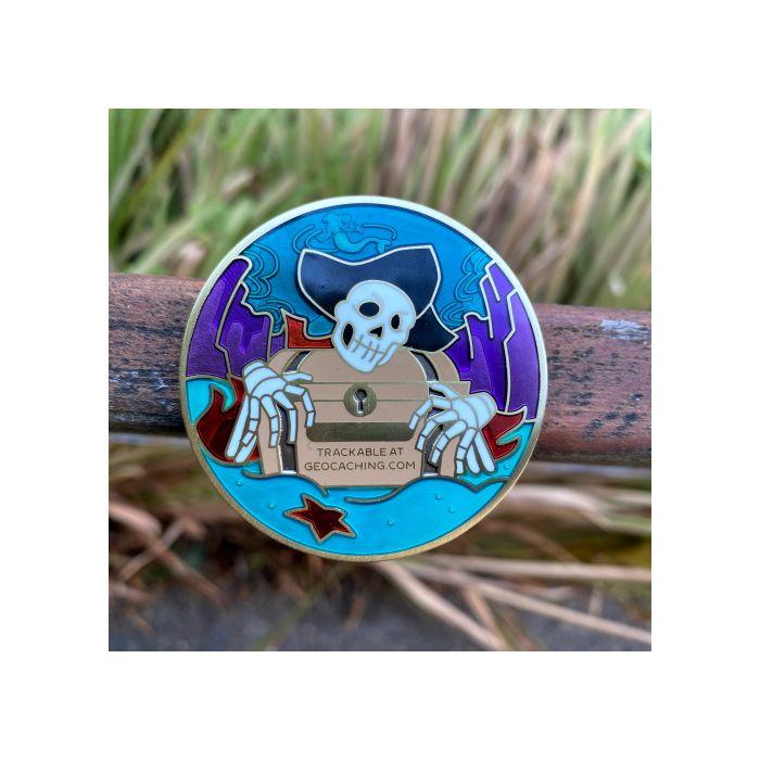 2020 Pirate Geocoin- Siren Song